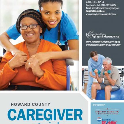Howard Co Caregiver Guide 17