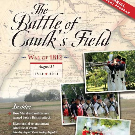 Kent Co – War of 1812 Caulk's Field Battle 14