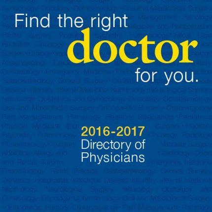 HCGH Directory of Physicians 16-17