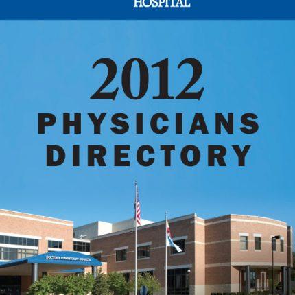 Doctors Community Hospital Directory 12