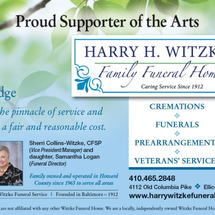Harry Witzke Family Funeral Home ad
